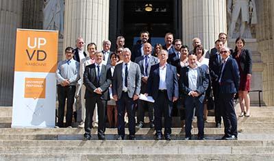 Remise de diplômes DU Expertise de Justice devant la Cour d'Appel de Montpellier